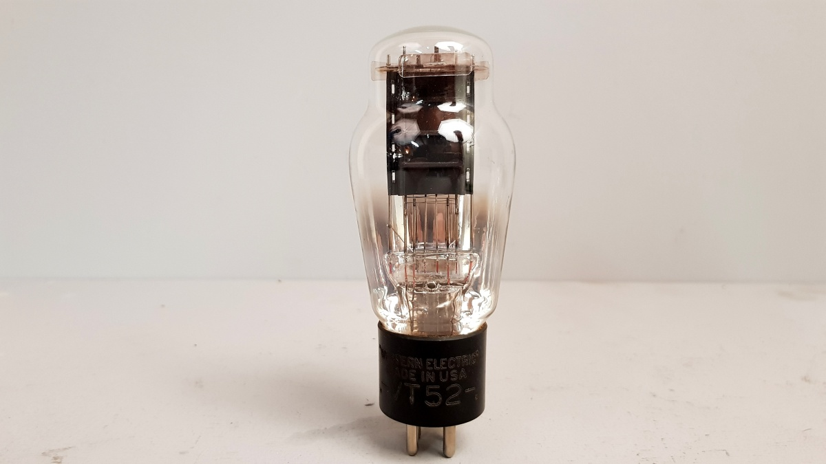 1 valvola  TUBES NOS VT52 WESTERN ELECTRIC  054